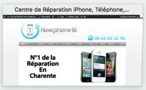 téléphone Site newphone16